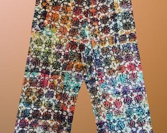 Thai Fisherman Trousers Pants Yoga Samurai Kung Fu Tai Chi Boho  spa massage  cotton 100%