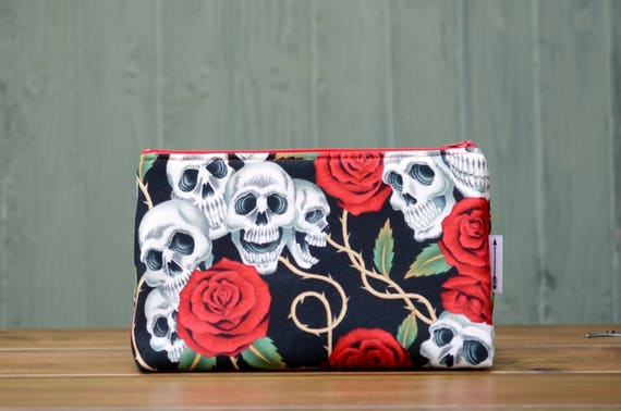 Skulls and Roses large bag