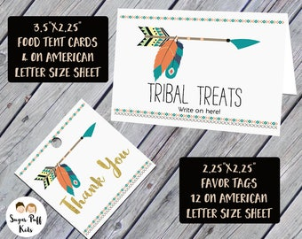 Food Tent Cards And favor Tags For Wild One Birthday Party Digital Files Wild One  sc 1 st  Etsy & Tent tag | Etsy