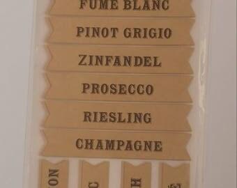 Wine Label Stickers