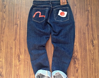 Evisu jeans selvedge denim