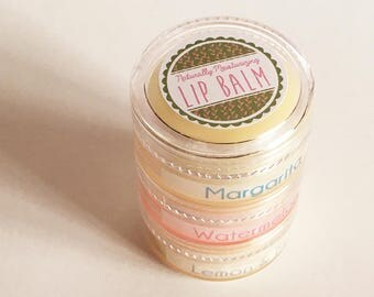 Natural Lip Balm - Summer Flavors