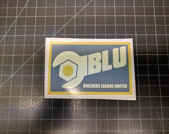 Team Fortress 2 Blu Team Decal