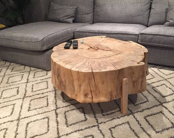 Reclaimed Cotton Wood Coffee Table