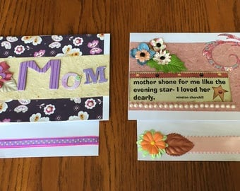 Handmade Mother's Day Cards by Celeste