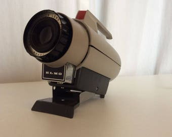 1960's 35MM Ilford Elmo - Slide Projector Model CS