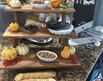 Food display table