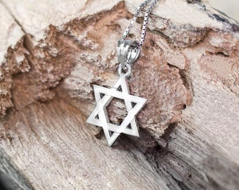Star of David Necklace Pendant