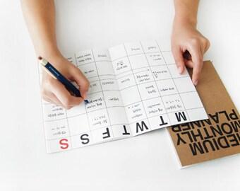 Monthly Planner [ Medium ] / Diary / Journal