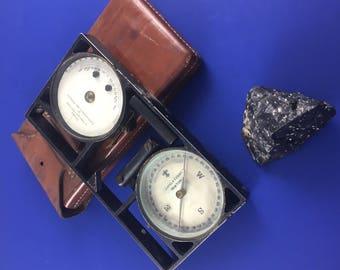 Antique Pocket Compass Omnimeter Made by Keuffel & Esser New York