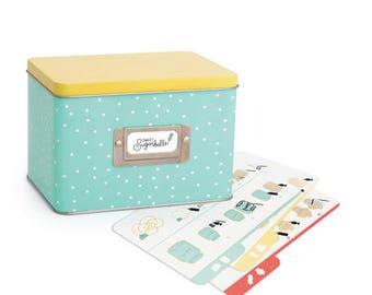 Sweet Sugarbelle Recipe Card Tin