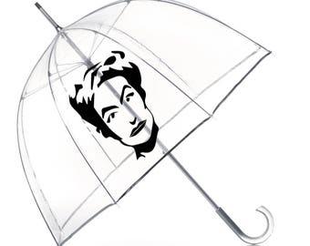 JOAN CRAWFORD Umbrella- Joan Crawford Fan Art