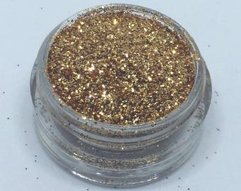 Red Gold Genuine Cosmetic Glitter 3g Pot Eyeshadow Face Nails Craft Card Making Fine Loose Glitter UK Seller