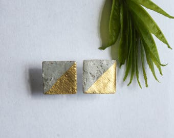 Sterling concrete handmade concrete gold lacquer