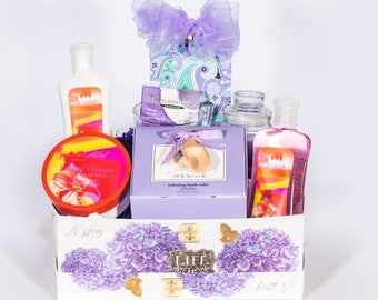 Mother's Day Pamper Mom Spa Gift Box
