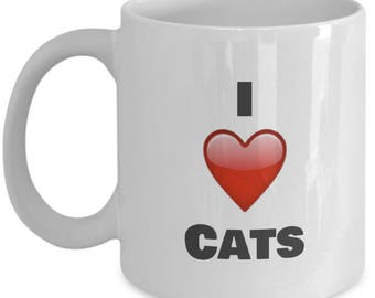 I love My cats Coffee Mug - gifts Idea for cat lovers