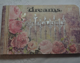 "Altered Composition Book 4.5"" x 7.5"" - Dream Book"