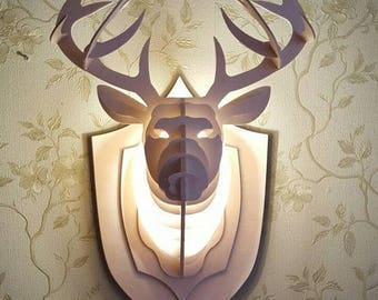 The deer sconce wall lamp