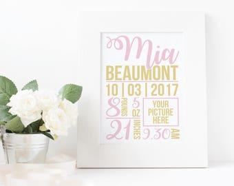 Baby Birth Poster