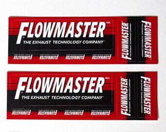 14Pc Vintage Original Flowmaster Exhaust Automotive Car Racing Sticker Decal, Hot Rod, Cars, Muscle, Trucks
