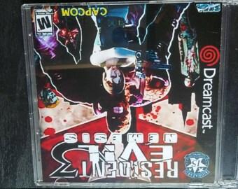 Custom Dreamcast Game ( Resident Evil 3 )