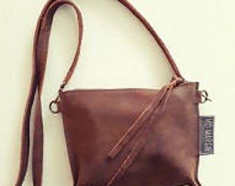 Handbag Brown supple leather