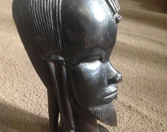 MCM African bust statue!