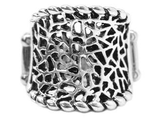 NEW Silver  Elegant Vintage RIng
