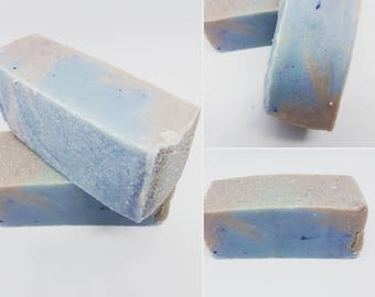 Soap home made with bitter almond
