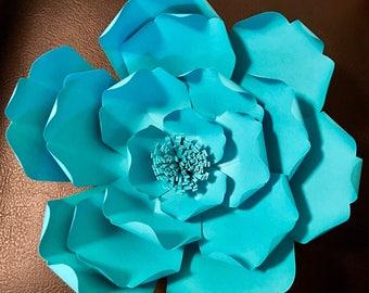 Flor Azul aqua
