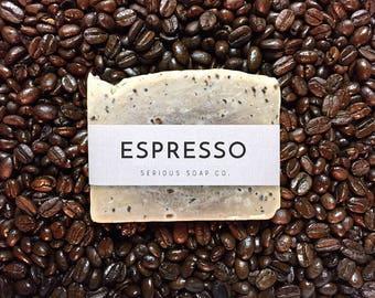 Espresso Soap - 100% all natural soap