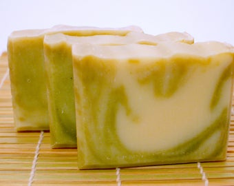 Argan oil Spirulina soap (Moisturizing)