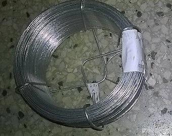 Wire 100 m x 0.8 mm Galvanised - 400 grams - Multi Use