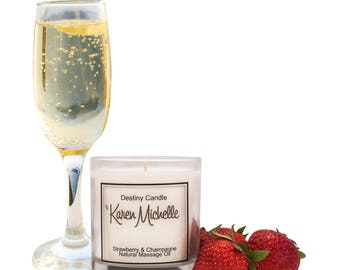 Strawberry & Champagne Scented