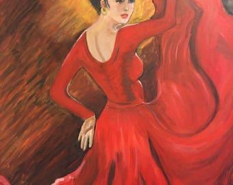 The seductive Dancer
