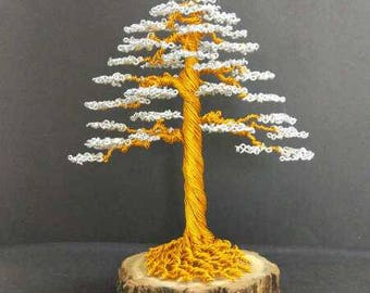 Handmade Wire Tree Sculpture