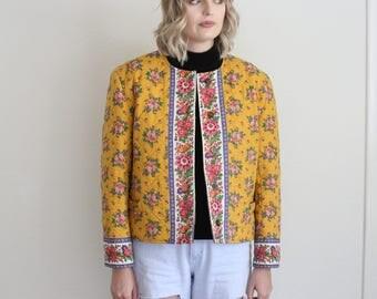 Vintage Vera Bradley quilted jacket