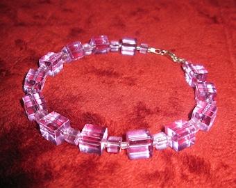 Purple Cube Bracelet.