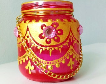 Moroccan Tea candle 1