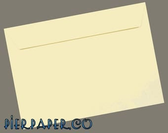 25 x C5 Clotted Cream Peel & Seal Luxury 120gsm Envelopes - 229 x 162mm