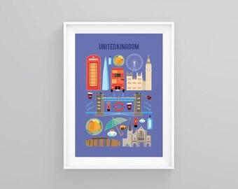 United Kingdom print