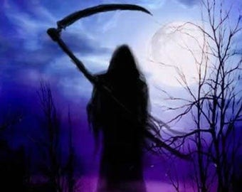 Grim Reaper Mug  Personalised