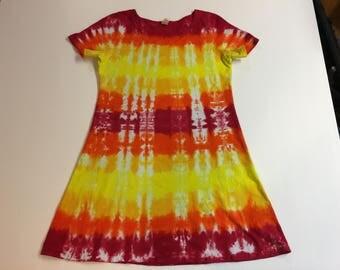 Tie Dyed Ladies Dress
