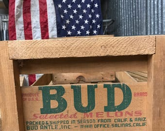 Bud Melon Fruit Crate