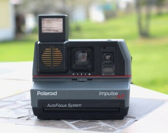 Vintage Polaroid Impulse AF Polaroid Camera, Vintage, Camera, Vintage camera Photo photography, Retro, snapshot