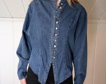 Vintage 90's Wrangler Denim Shirt