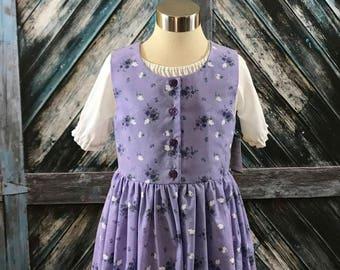 Size 8--Practical Prairie Dress Set