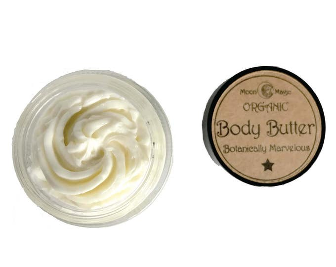 Organic Body Butter, nature nourishment for your skin