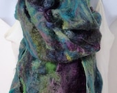 HOLIDAY SALE Merino and Silk Cobweb Scarf or Wrap (free US ship)