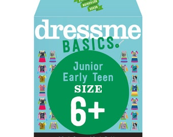 Dressme Basics - Pattern SIZE 6+ - 1 Dress and 1 T-shirt - 1000s of possibilities